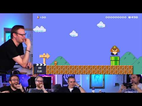 Super Mario Maker looks like a fun game