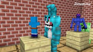 FNAF Monster School: Build Battle Sculptors 2 - Minecraft Animation (Five Nights At Freddy