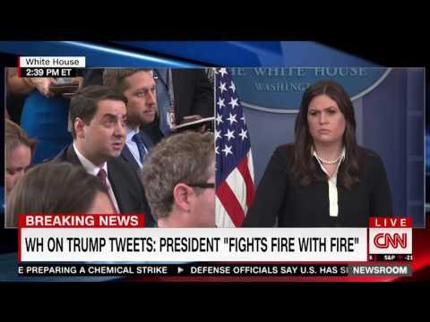 Sarah Huckabee Sanders struggles to defend Trump tweets attacking Morning Joe  hosts