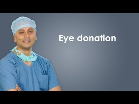 How can one make eye donation?