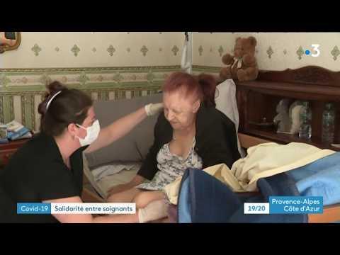 A Marseille, une aide-soignante continue son activité grâce à la solidarité d'une infirmière