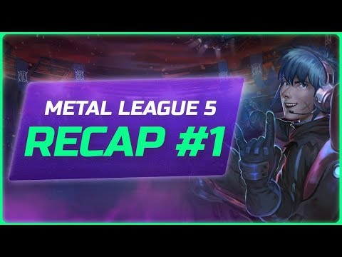 🏆 Metal League 5 | Stage 01 Recap