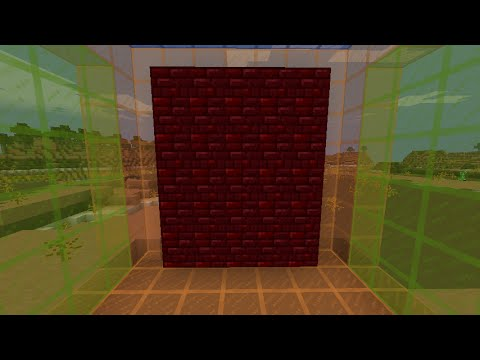 How To Make Red Nether Brick In Mineceaft