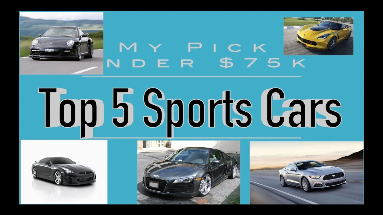 Top Sports Cars Under K But It Now On Ebay YouTube - Sports cars under 75k