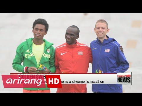 RIo 2016: Kenya sweeps gold in men's and women's marathon