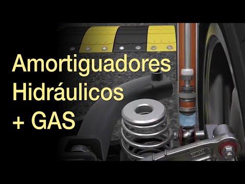¿Cómo funcionan los Amortiguadores HIDRAULICOS + GAS?
