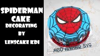 Spiderman Cake Decorating (Sequel) by LeNsCake Kdi