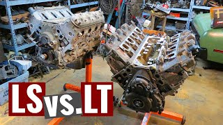 The Next Generation of Chevy V8 Engines: LS vs. LT