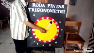 alat peraga roda pintar trigonometri