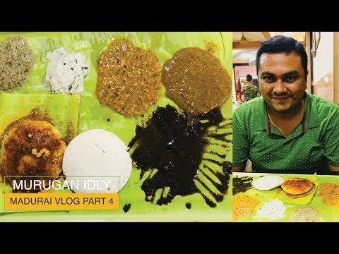 The world's best Idlis and chutneys from Murugan Idly, Madurai
