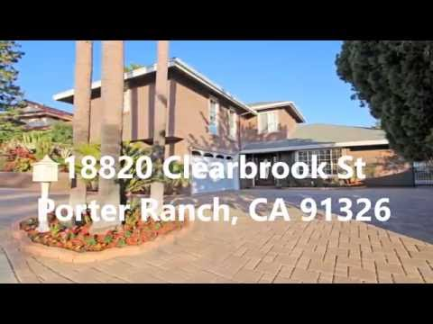 18820 Clearbrook St Porter Ranch, CA 91326