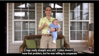 pediatric pt 7 how to carry a baby with leg stiffness