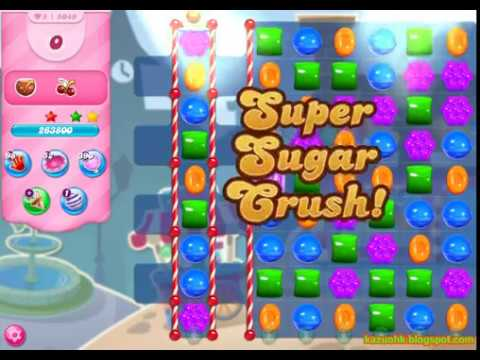 Candy Crush Saga Level 5049 (3 stars, No boosters, 1 try)