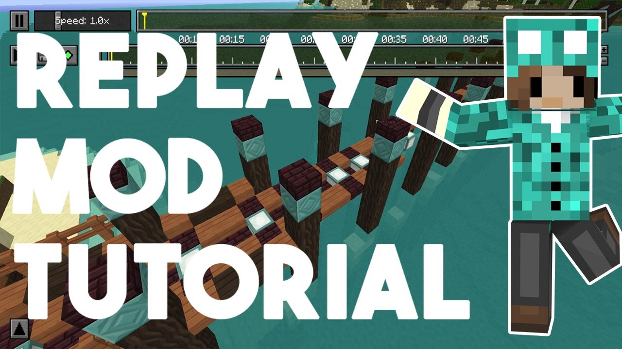 Minecraft Replay Mod \\ Tutorial \\ How to use the replay ...