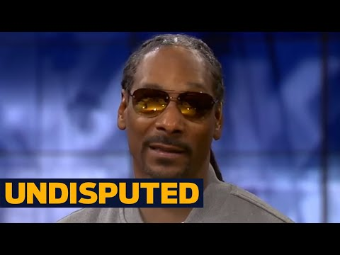 Snoop Dogg disagrees with Ben Roethlisberger - let Antonio Brown celebrate | UNDISPUTED