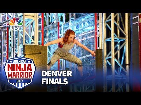 Jeri D'Aurelio at the Denver City Finals - American Ninja Warrior 2017