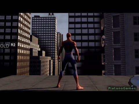 Spider-Man 3 - Swinging Tutorial Mission - PlayStation 3 Gameplay Part 2 - HD
