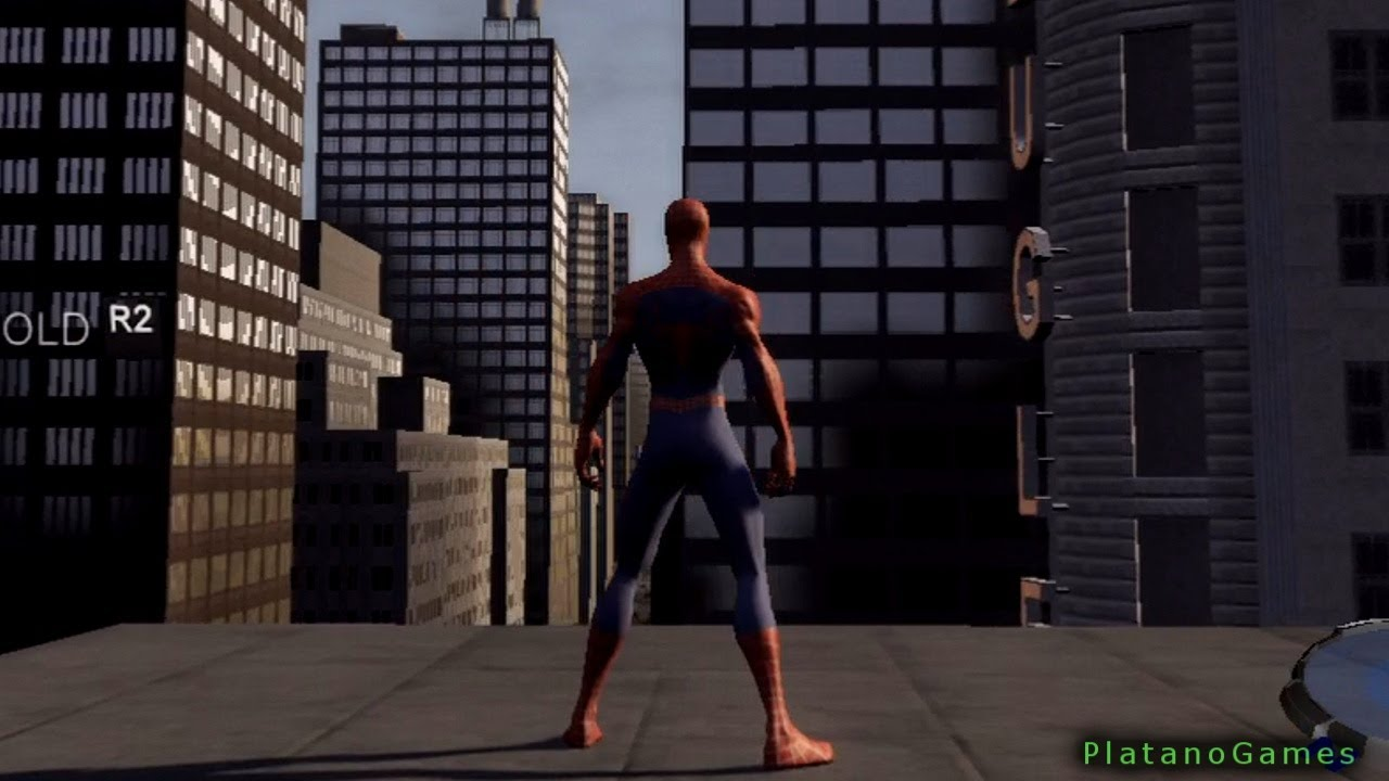 spider-man 3 - swinging tutorial mission - playstation 3 gameplay