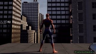 Spider-Man 3 - Swinging Tutorial Mission - PlayStation 3 Gameplay Part 2 - HD
