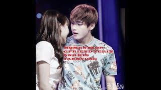 TOP 10 Real Moments of BTS Taehyung and GFriend Yerin