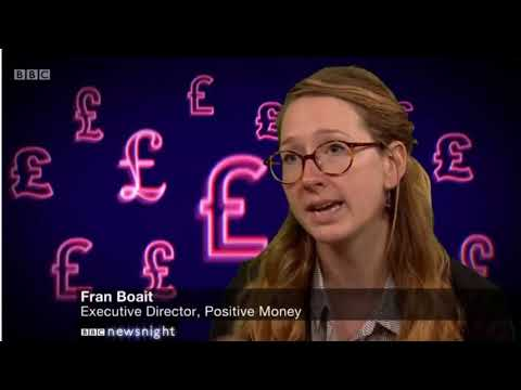 Fran Boait (Positive Money) on BBC Radio 4's You and Yours 5 September 2018