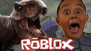 WE ARE IN JURASSIC PARK?!?! Dinosaur Simulator (ROBLOX) Gameplay