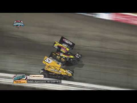 Knoxville Raceway 360 Highlights June 10, 2017