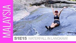 Waterfalls Fun! - Malaysia, Pulau Langkawi, Seven Wells / Telaga Tujuh. Hiking, Swimming & Lunch