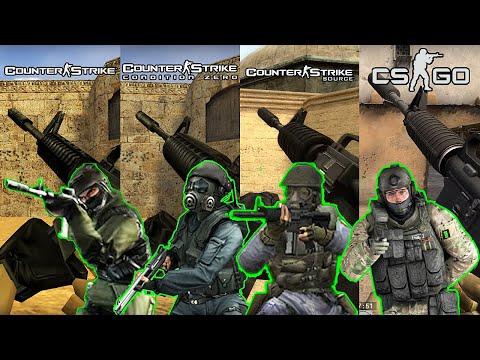 Recoil Patterns / Reload Animations   CS:GO Vs. CS 1.6 Vs. CS:CZ Vs. CS:S   Counter Strike
