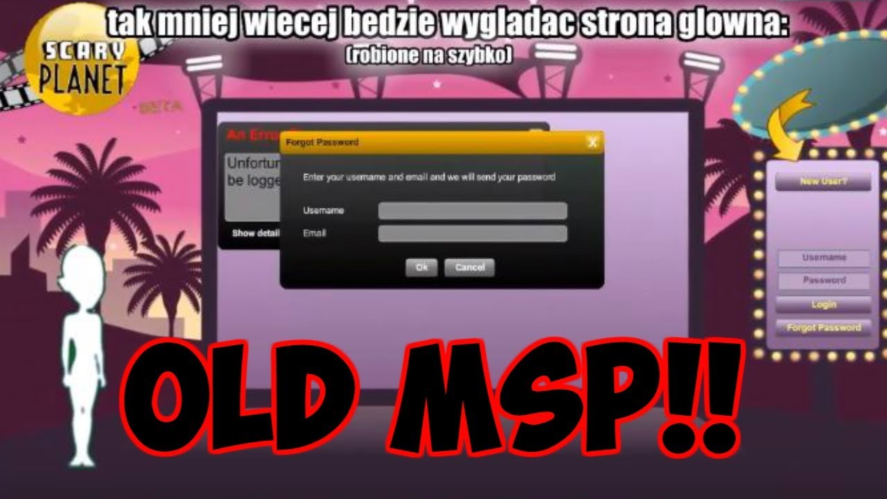 THEY'RE RE-CREATING OLD/BETA MSP! OMG!