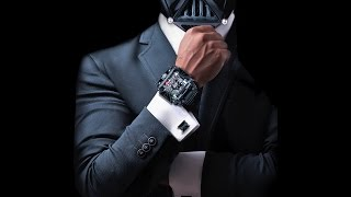 Devon Star Wars Darth Vader Watch -The Darth Devon Time Belt Tread 1 Limited Edition