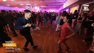 Charlie Garcia & Fabhiola - Salsa Social Dancing @ WARSAW SALSA FESTIVAL 2018