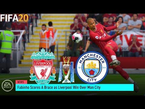 FIFA 20   Liverpool Vs Manchester City - LFC Career Mode - Full Match & Gameplay