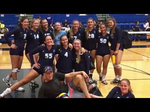 Marina High School Girls Volleyball Hawaii Team 2017