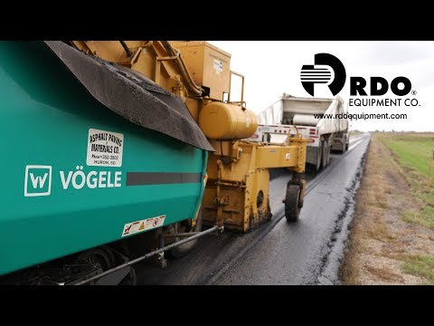 RDO Equipment Co. And Wirtgen For Asphalt Paving & Materials Co.