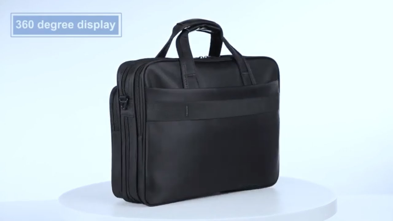 c196b70adad1 KOPACK Laptop Briefcase Expandable Large Capacity 15.6 Inch Laptop Bag  Water Resistant
