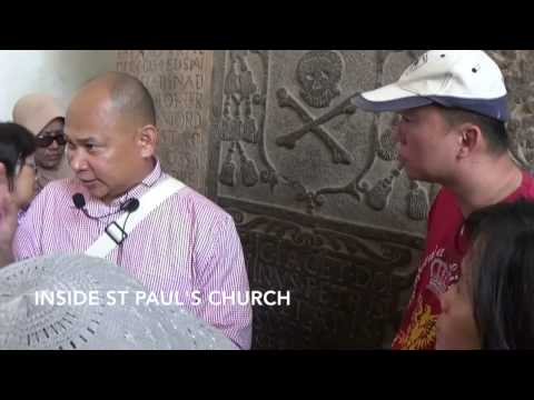 Cultural Heritage Specialist Guide Course : Stadhuys and St Paul's Hill by Rosli Nor