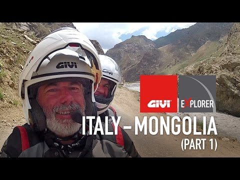 Italy Mongolia, Orient on the road   Part 1