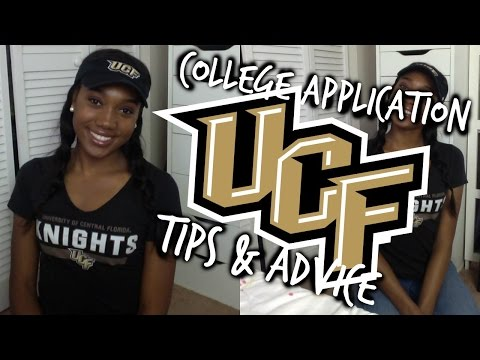 I'm Going To UCF! College Application Tips + Advice