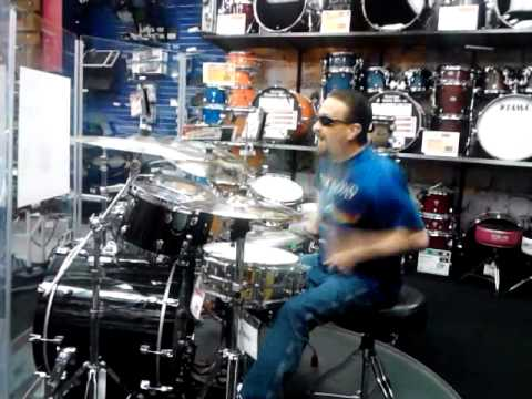 Shawn Allen Sisk on 7-28-13 at a Music Store in Amarillo, Texas