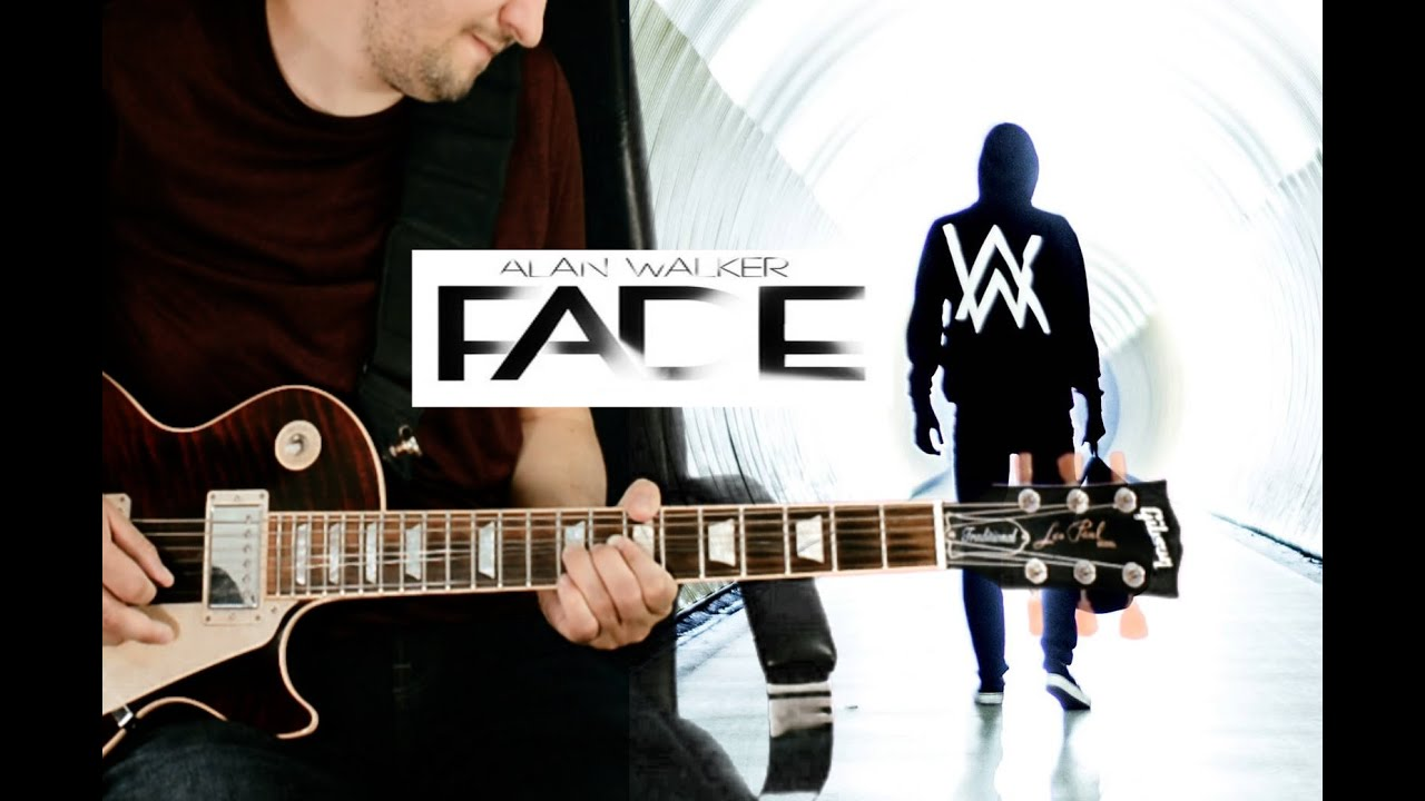 Alan Walker Faded Electric Guitar Cover By High Vision Youtube