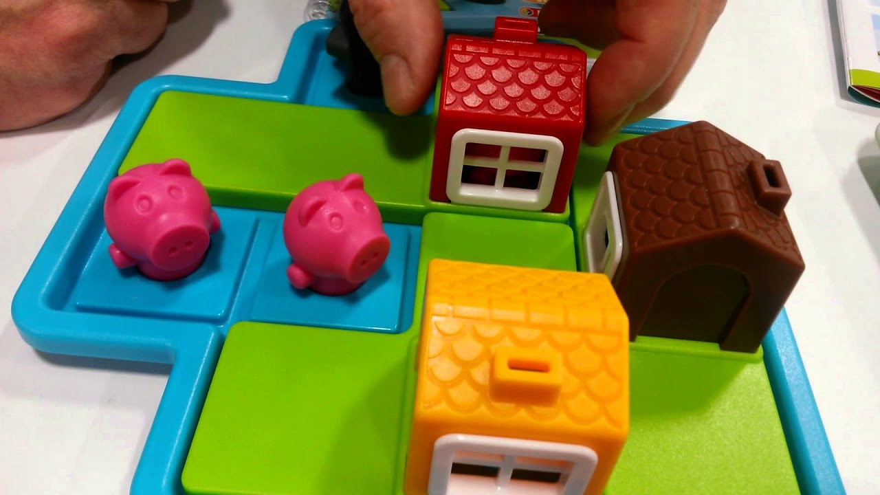 3 Little Pigs From Smart Toys And Games At The 2015 Toy