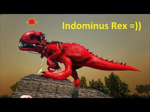 ARK: Survival Evolved (The Island) #9 - Khủng Long Biết Tàng Hình Indominus Rex