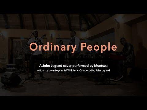 "Muntuza Covers ""Ordinary People""   Esperanza: The Intimate Experience HD"