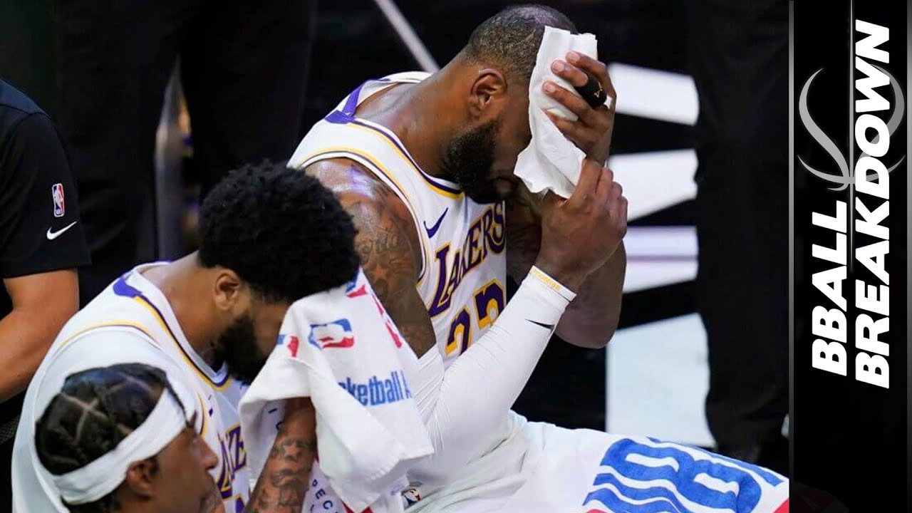 Lebron and Anthony Davis let lakers down in game 1 vs Suns, a breakdown