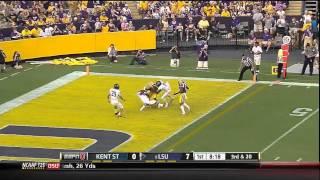 09/14/2013 Kent State vs LSU Football Highlights