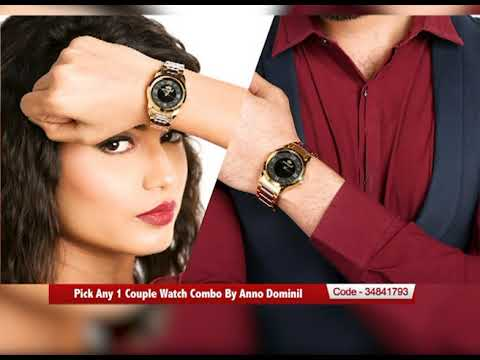 Pick Any 1 Couple Watch Combo By Anno Dominil