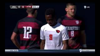 Stanford Men's soccer vs Oregon State University March 13, 2021
