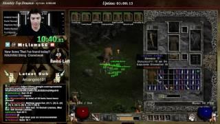 diablo 2 8 man hc druid speedrun mrllamabear