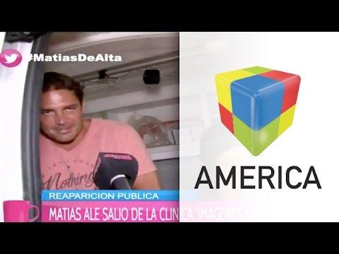 La palabra de Matías Alé tras la internación: Estoy bien